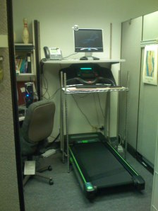 Unfortunately the idea to install treadmills in our offices didn't make the running.  Source:  Wikimedia Commons.