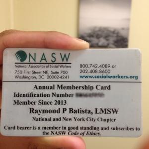 Identify Yourself:  NASW Burger King Kid's Club...I mean, membership card.