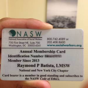 Identify Yourself:  NASW Burger King Kid's Club...I mean, membership card.